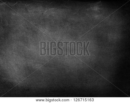 Black blackboard slate with nothing on it