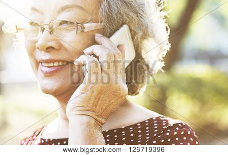 Telecommunication Smartphone Digital Device Concept