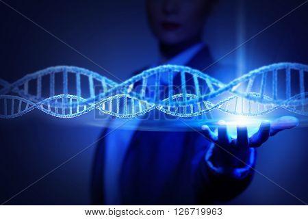 Biochemistry science concept