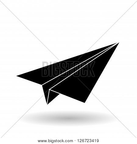 paperplane concept with icon design, vector illustration 10 eps graphic.