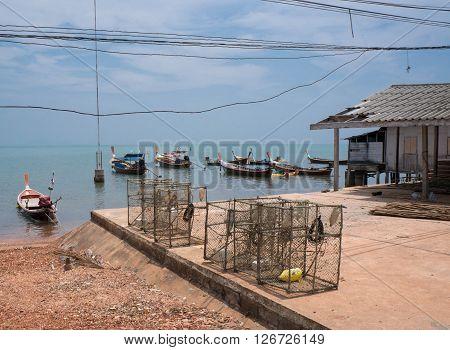 Sea Gypsy Village on Koh Lanta Thailand