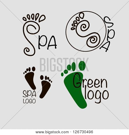 Spa feet logo