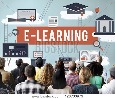 E-learning Education Internet Technology Network Concept