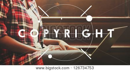 Copyright Branding Marketing Strategy Trademark Concept