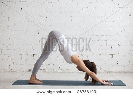 Yoga Indoors: Adho Mukha Svanasana