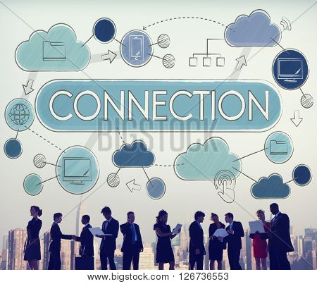 Connection Relationship Togetherness Social Networking Concept
