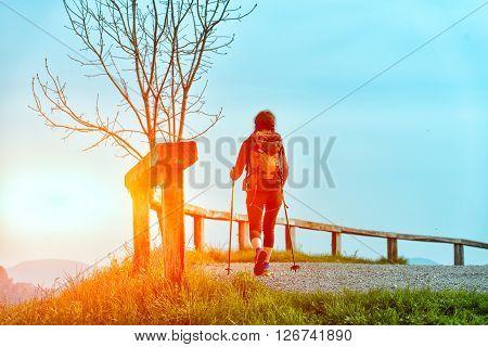 Religious Pilgrimage Alone