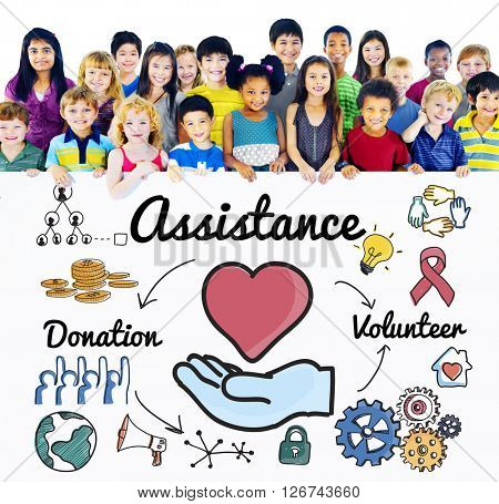 Assistance Support Charity Help Concept