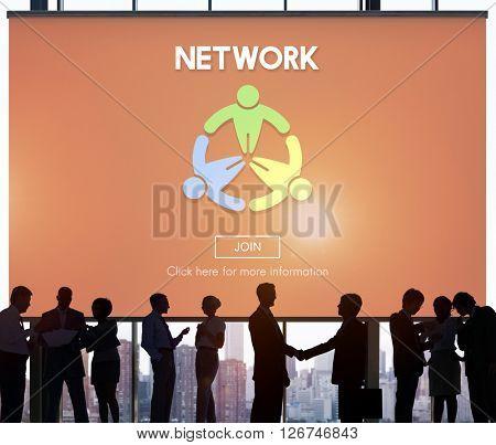 Network Computer Connection Internet Domain Concept
