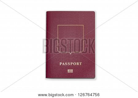 Passport In The Red Cover