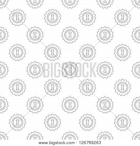 1st place pattern seamless black for any design