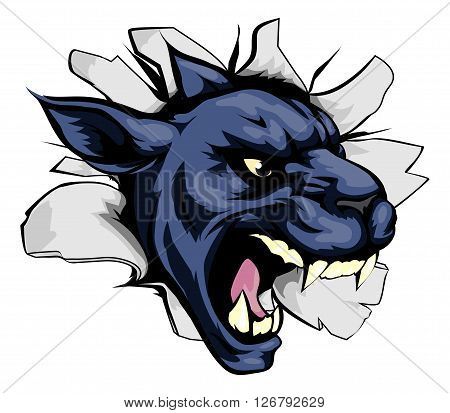 Panther Sports Mascot Breakthrough