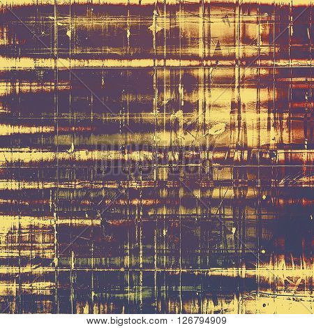 Grunge texture, detailed macro closeup, vintage composition. With different color patterns: yellow (beige); brown; red (orange); gray; purple (violet); pink