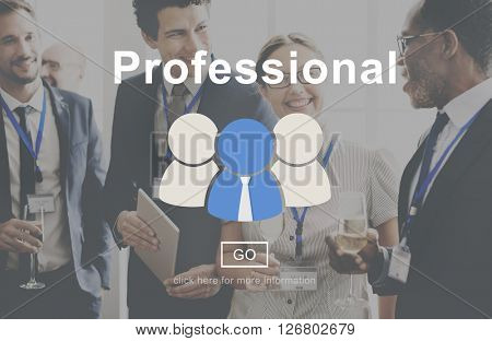 Professional Skill Development Expert Leading Concept