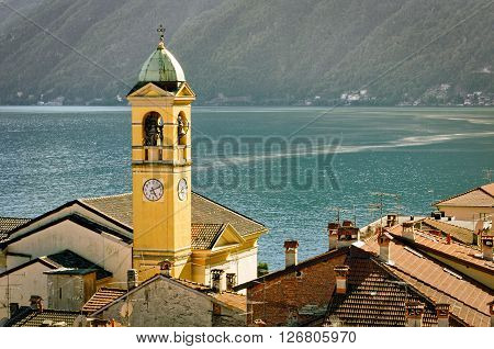 Lago di Como (Lake Como) Colonno and landscape