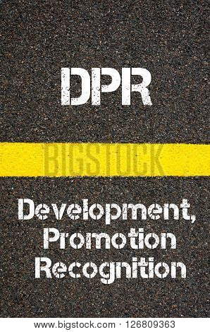Business Acronym Dep Development, Promotion, And Recognition