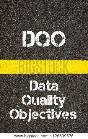 Business Acronym Dqo Data Quality Objectives