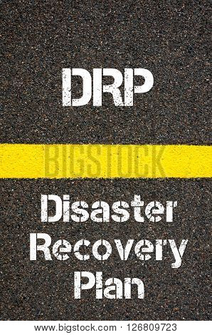 Business Acronym Drp Disaster Recovery Plan