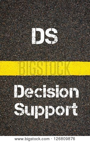 Business Acronym Ds Decision Support