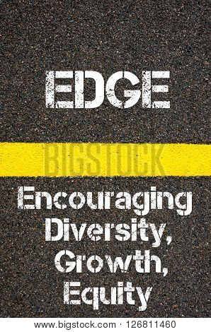 Business Acronym Edge Encouraging Diversity Growth And Equity