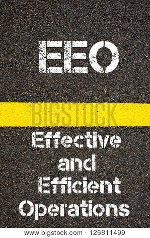 Business Acronym Eeo Effective And Efficient Operations