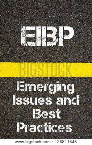 Business Acronym Eibp Emerging Issues And Best Practices
