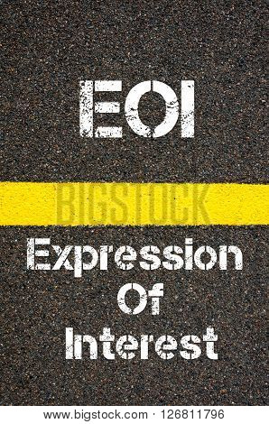 Business Acronym Eoi Expression Of Interest