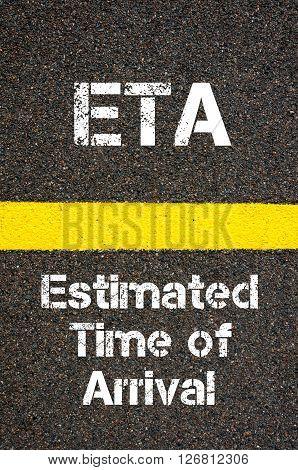 Business Acronym Eta Estimated Time Of Arrival
