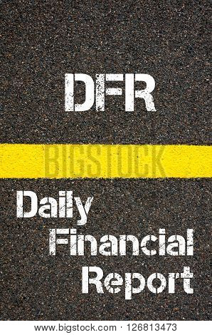 Business Acronym Dfr Daily Financial Report