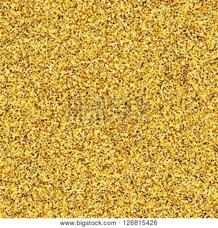 Gold glitter , gold texture, gold placer, golden sand , metal gold. the effect of gold , gold pattern
