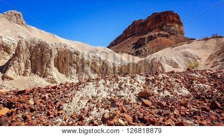 Interesting rock formation in Big Bend National Park