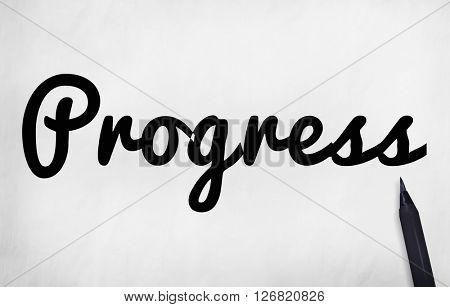 Progress Development Growth Business Concept