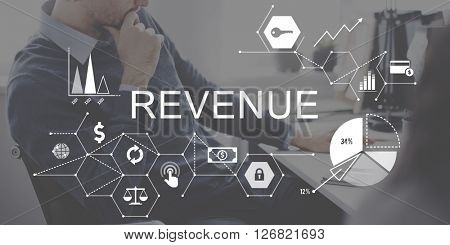 Revenue Income Money Profit Costs Budget Banking Concept