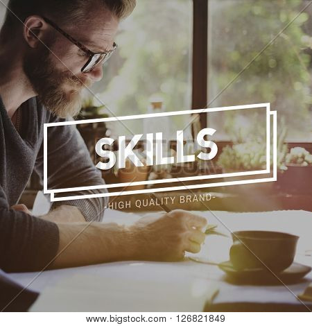 Skills Skill Talent Cleverness Professional Recruit Concept