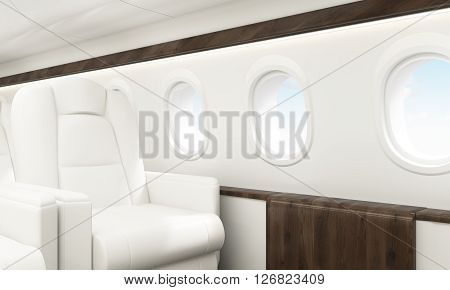 Aircraft Interior Sky