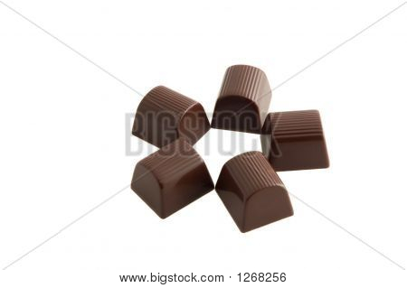 Chocolate Candy Star