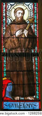 Stained Glass - Saint William Of Gellone