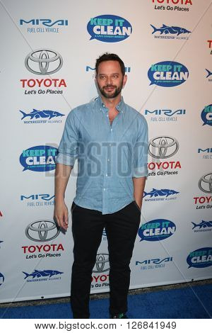 LAS VEGAS - APR 21:  Nick Kroll at the Keep It Clean Comedy Benefit For Waterkeeper at the Avalon Hollywood on April 21, 2016 in Los Angeles, CA