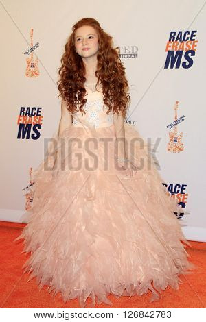 LAS VEGAS - APR 15:  Francesca Capaldi at the  23rd Annual Race To Erase MS Gala at the Beverly Hilton Hotel on April 15, 2016 in Beverly Hills, CA