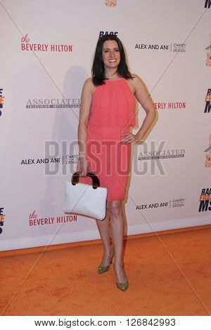 LAS VEGAS - APR 15:  Paget Brewster at the  23rd Annual Race To Erase MS Gala at the Beverly Hilton Hotel on April 15, 2016 in Beverly Hills, CA
