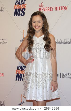 LAS VEGAS - APR 15:  Olivia Sanabia at the  23rd Annual Race To Erase MS Gala at the Beverly Hilton Hotel on April 15, 2016 in Beverly Hills, CA