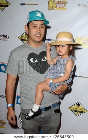 LAS VEGAS - APR 17:  Joe Hahn at the Milk + Bookies Story Time Celebration at the California Market Center on April 17, 2016 in Los Angeles, CA