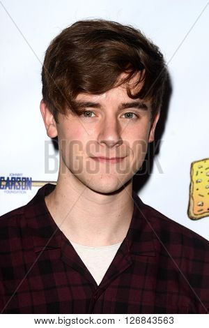 LAS VEGAS - APR 17:  Connor Franta at the Milk + Bookies Story Time Celebration at the California Market Center on April 17, 2016 in Los Angeles, CA