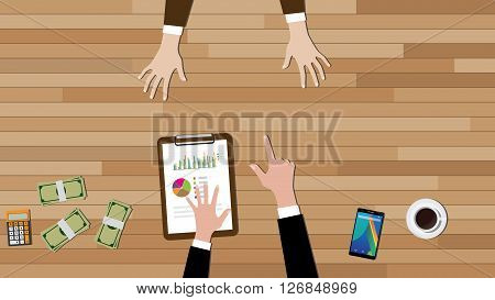 you're fired illustration boss pointing employee vector illustration