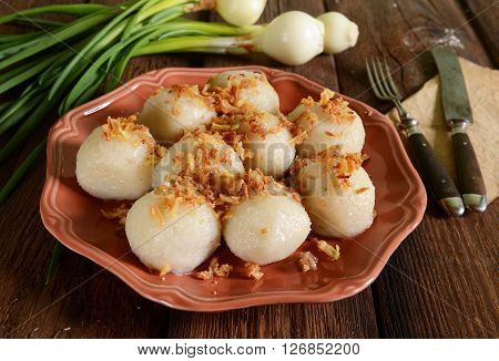 Meat Stuffed Dumplings