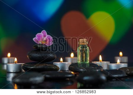 colorful light backgroung for spa ambiance and meditation