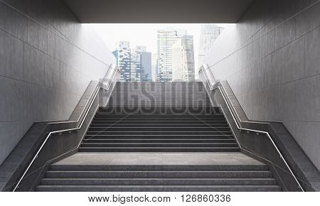 Stairs To The City