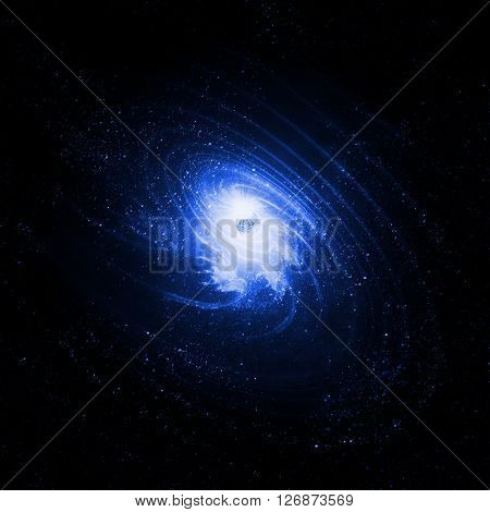 Spiral Galaxy - Background Suitable for Custom Content