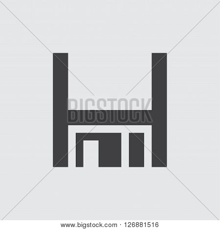Floppy disk icon, isolated on white background illustration