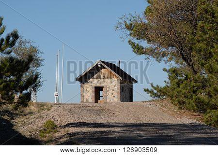 Cabin in the Naturel Park Entrance of Beynam Forest, Ankara